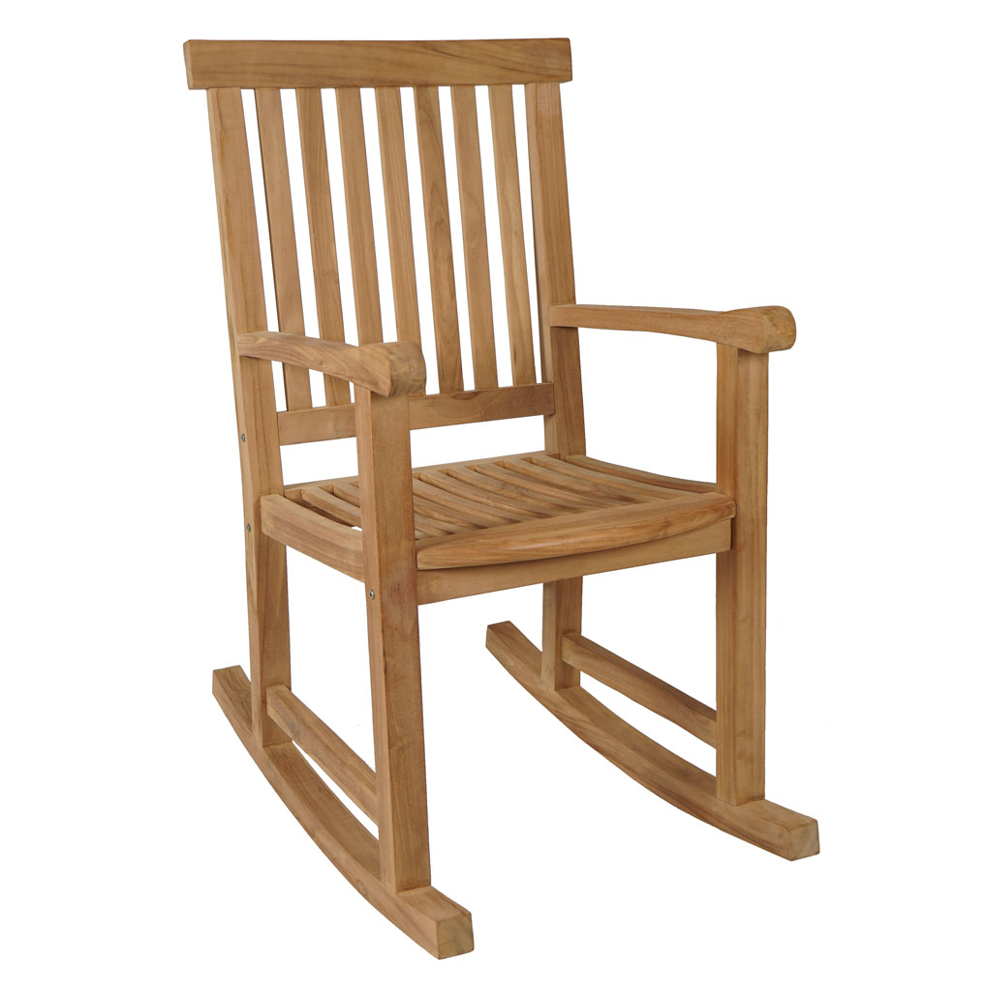 kmh teak schaukelstuhl schwingstuhl relaxstuhl. Black Bedroom Furniture Sets. Home Design Ideas