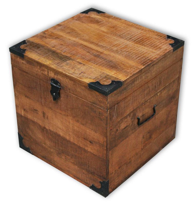 kmh truhe holzkiste holzbox weinkiste schatzkiste spielzeugkiste shabby vintage ebay. Black Bedroom Furniture Sets. Home Design Ideas