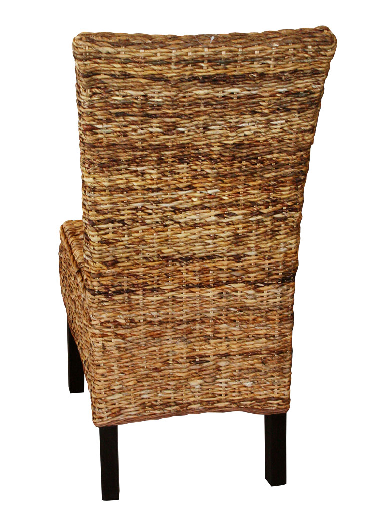 KMH® 6 Set Esszimmerstühle Rattanstühle Korbstühle ...