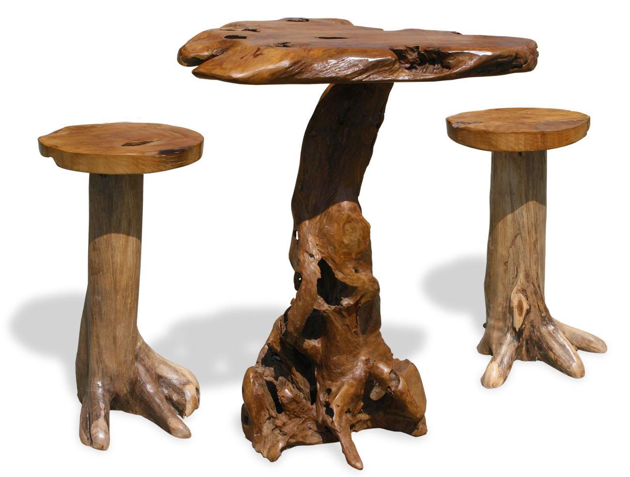 kmh teak sitzgruppe stehtisch bartisch bistrotisch hocker. Black Bedroom Furniture Sets. Home Design Ideas